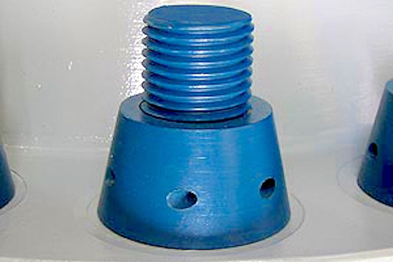 Lock-Well™ Wellhead & Flange Security Nuts - Anti-theft System for Wellheads & Flanges - Oil Well Security - Oilfield Products - Hot-Hed® International